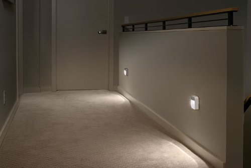 Mr. Beams MB723 Battery-Powered Motion-Sensing LED Stick-Anywhere Nightlight, 3-Pack