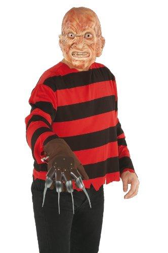 Rubie's Official Freddy Krueger Costume Kit Adult One Size - Nightmare on Elm Street Adult