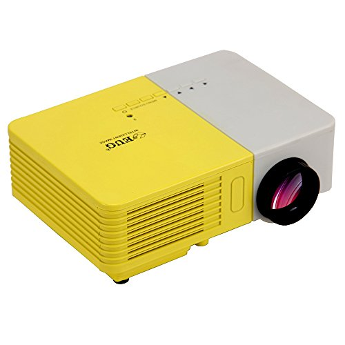 Eug Mini Portable Home Theater Hd Projector 100 Lumens Support 1080P