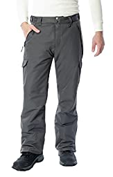 Arctix Men\'s SnowSports Cargo Pants, Charcoal, Large