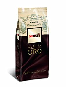 Molinari Oro Roasted Coffee Beans 1Kg