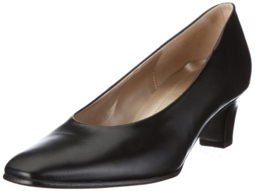 Gabor Women's Competition Leather Black Platforms Heels 45.180.37 6.5 UK