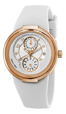 Philip Stein Women's 31-ARGW-RBW Active Rose Gold and White Rubber Strap Watch from Philip Stein