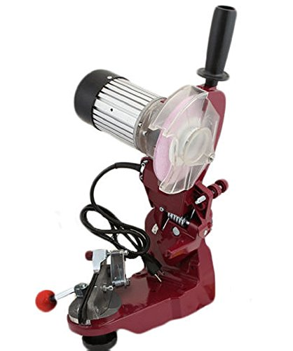 Professional Workbench Or Wall Mount Electric Chain Grinder Sharpener With Lamp
