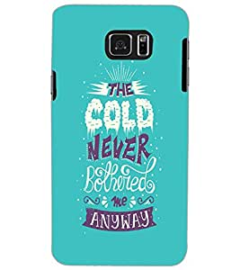 SAMSUNG GALAXY NOTE 5 COLD NEVER Back Cover by PRINTSWAG