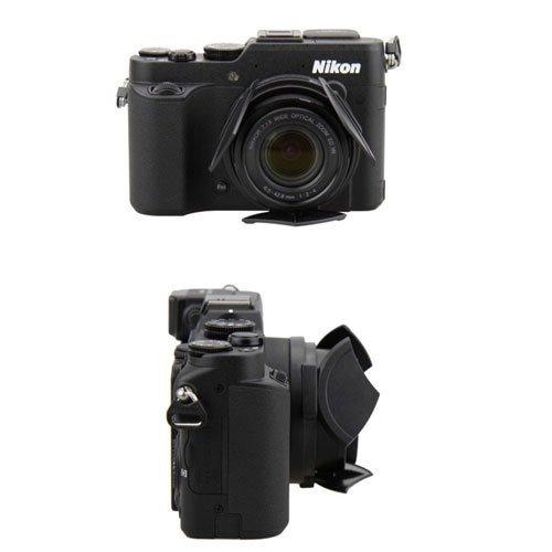 JJC automatic lens Hood cap For Nikon Coolpix P7800 P7700 ALC-P7800 jjc es 62 lens hood for canon lens 62mm