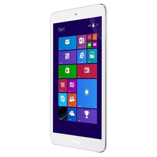"""Asus M81C-1B017W VivoTab 8 Tablet, Display 8"""" IPS con Risoluzione 1280 x 800, Processore Intel® AtomTM Z3745 QuadCore, SSD 32 GB, RAM 2 GB, Bianco"""