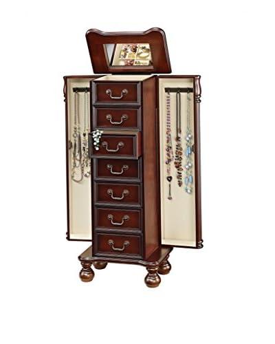 Acme Furniture Jewelry Armoire, Cherry