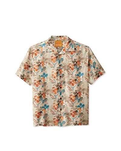 Margaritaville Men's Floral Short Sleeve Shirt