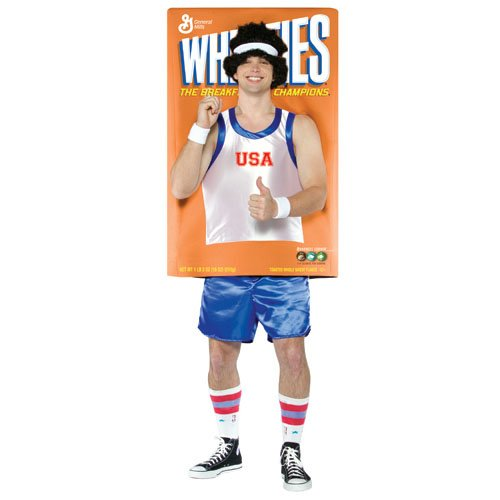 Adult Wheaties Box Costume