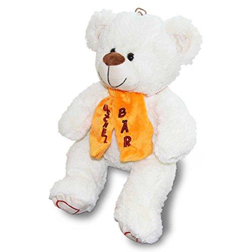 4 x Plüsch Softy Bär Kuschelbär Teddybär