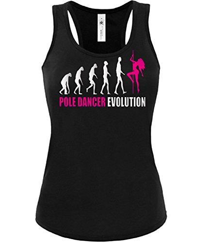 POLE DANCER EVOLUTION 2023(TT-F-SW-Weiss-Pink) Taglia. Medium
