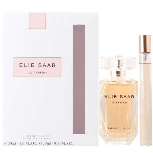 Elie Saab Le Parfum Geschenkset 50ml Eau de Toilette Spray +10ml Purse Spray