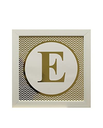 Star Creations Gold Foil Letter Collection Letter E, 14 x 14
