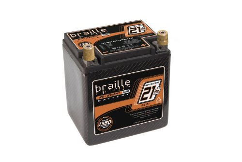 Braille Battery B3121C Carbon Fiber Lightweight Racing Battery
