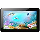 Xoro PAD 900 22,8 cm (9 Zoll) Tablet-PC (Cortex A9, 1,2GHz, 1GB RAM, 8GB Flash Speicher, WLAN, BT, USB, Android 4.2) inkl. Ständer und Softstoff-Schutzhülle schwarz