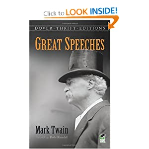 Great Speeches (Dover Thrift Editions) Mark Twain and Bob Blaisdell