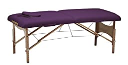 Earthlite Demifit Portable Massage Table Package, Purple