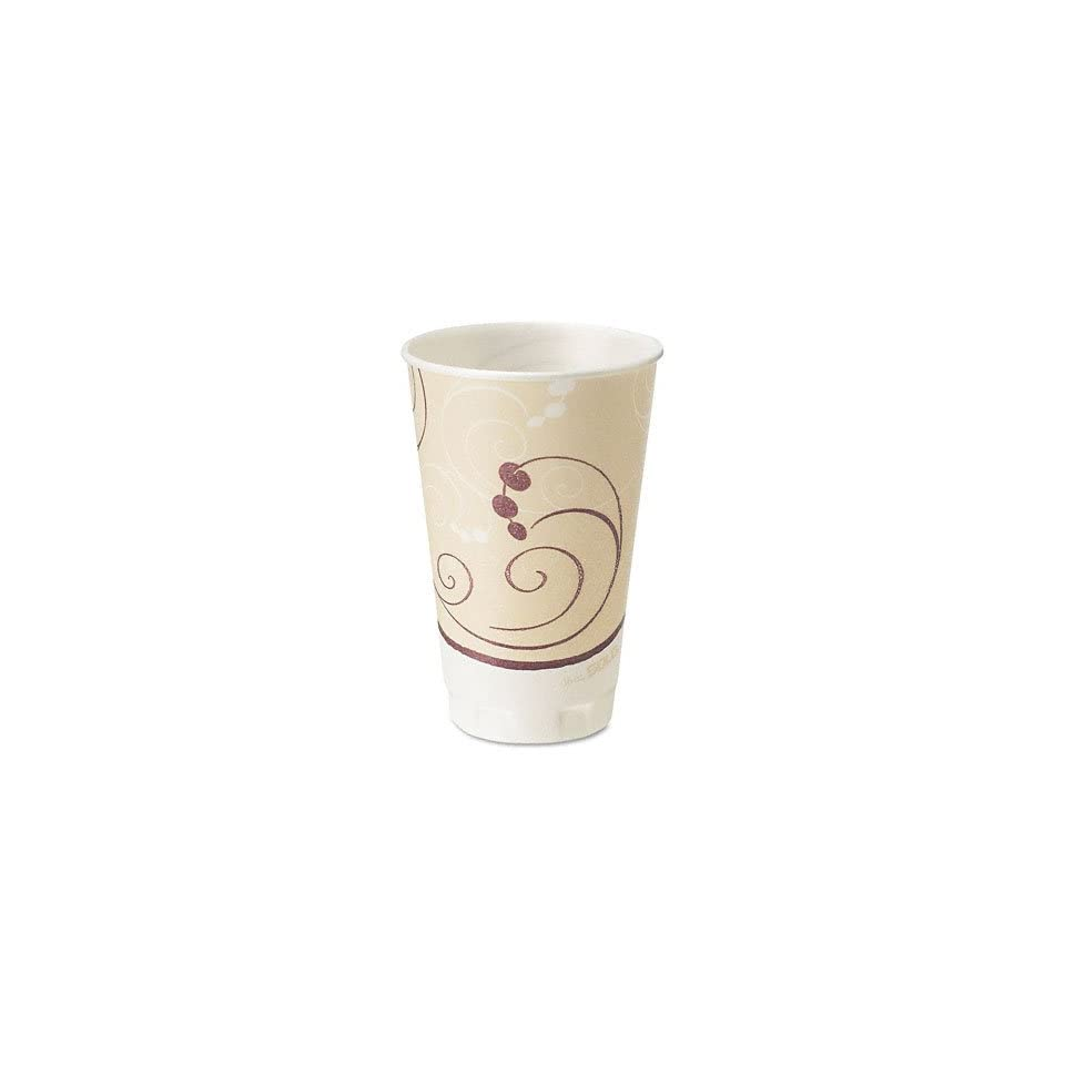 Trophy Insulated Thin Wall Foam Hot/Cold Drink Cups in Symphony Design