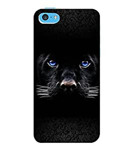 ColourCraft Jaguar Design Back Case Cover for APPLE IPHONE 5C