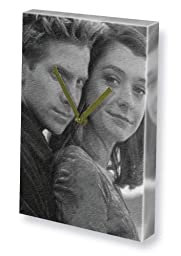 ALYSON HANNIGAN & SETH GREEN JS001 - Canvas Clock (LARGE A3 - Signed by the Artist) #js002