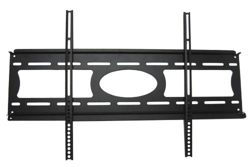 Arrowmounts AM-F2504B AM-F2504B Fixed LCD Wall Mount for 37 to 60 Inch Flat Panel TVs Black/37-60 Black