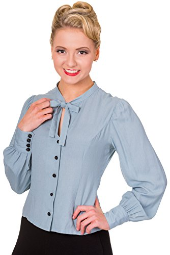 Camicetta Blusa Bright Side Banned (Blu Antico) - Small