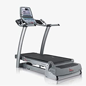 FreeMotion Commercial Treadmill with Workout TV Console