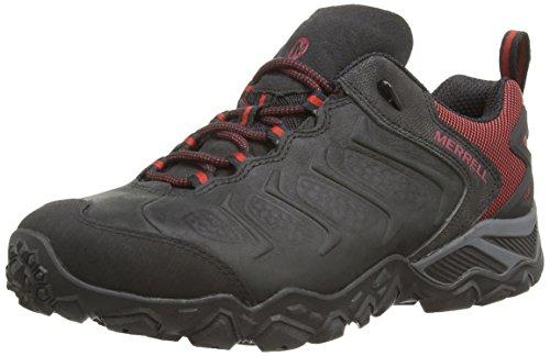 merrell-cham-shift-herren-trekking-wanderhalbschuhe-schwarz-black-red-42-eu