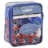 Conair Styling Essentials Rollers, Cushion Curl, Assorted Sizes, 32 pieces by Conair