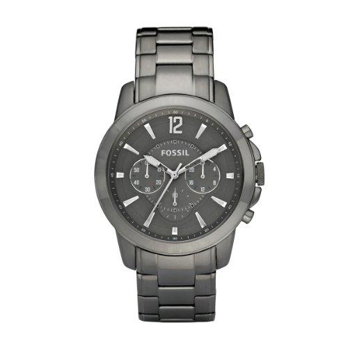 Fossil Men's Quartz Watch Grant FS4584 with Metal Strap