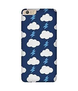 Blue Cloud Thunder Micromax Canvas Knight 2 E471 Case