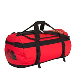 Sac Marin Base Camp 90L Bag The North Face - Rouge TNF/Noir