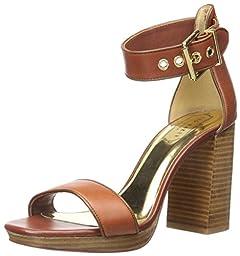 Ted Baker Women\'s Lorno Dress Sandal, Tan, 7 M US