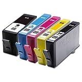 5 Compatible HP 364XL HP 364 XL HP 364-XL HP 364 Multipack High Capacity Printer Ink Cartridges For Photosmart 5510 5520 6510 6520 7510 7520 B110a B109 B110 B209 B210 B309 B310 B410 C5324 C5380 C5383 C5388 C5390 C6300 C6324 C6380 D5460 D7560 CN245B Pro B
