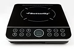Butterfly Ace G2 1800-Watt Power Hob Induction Cooktop (Black)