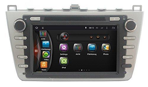 LIKECAR-HD-8-Zoll-1024-600-16GB-Flash-Quad-Core-RK3188-Kapazitive-Pure-Android-444-Autoradio-Car-DVD-GPS-Navigation-Headrest-Monitor-fr-MAZDA-6-Ruiyi-Ultra-2008-2012-Multimedia-System-mit-FM-AM-Dual-Z