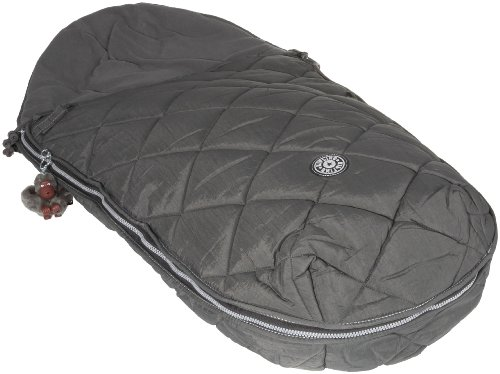 Kipling Sleeping Monkey Charcoal Toddler Warm Up Bag