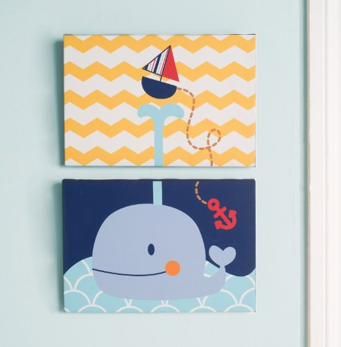 Kids Line Canvas Wall Art, Sail Away