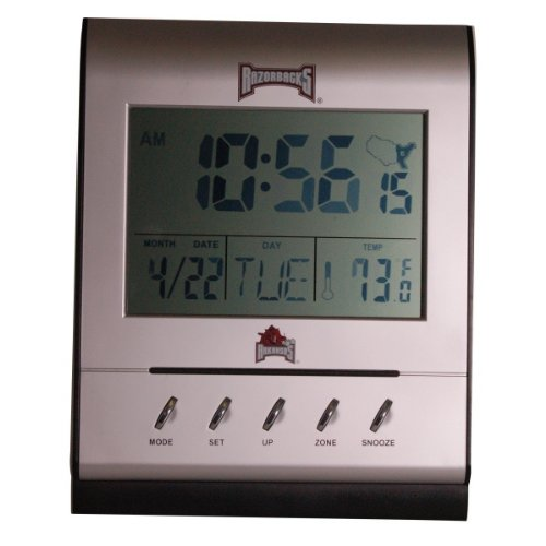 Arkansas Razorbacks Atomic Desk Clock at Amazon.com