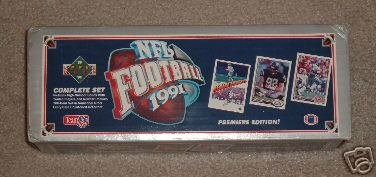 1991 Upper Deck Football Cards Unopened Factory Set (700 different cards) - I...