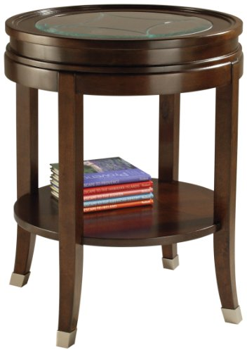 Image of Magnussen Lakefield Wood Round End Table (T1258-05)