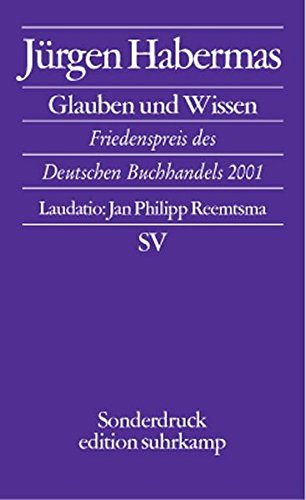 jurgen habermas essays Habermas's scholarly writings strive for a comprehensive critical theory of contemporary society the structural transformation of the public sphere traces the development and eclipse of the public sphere in modern society and contains the seeds of habermas's formulation of discourse ethics and communicative action.