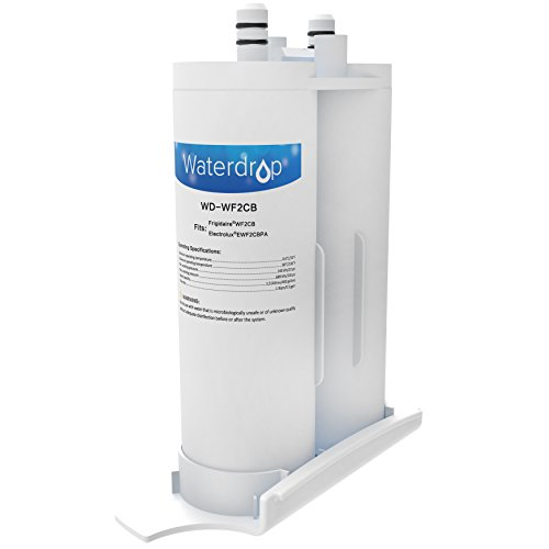 Waterdrop Refrigerator Water Filter Replacement for Frigidaire PureSource2 WF2CB, Kenmore 46-9911, Electrolux EWF2CBPA, FC100, SWF2CB, NGFC2000, 1 Pack (Kenmore Fridge Filter 9911 compare prices)