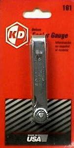 K-D Tools 161 Deluxe Feeler Gauge by K-D Tools