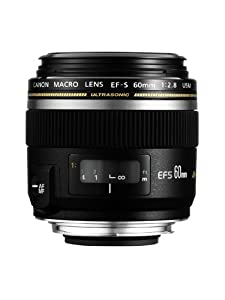 Canon EF-S 60mm f/2.8 USM Macro Lens - non Image Stabilised