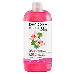 Dead sea essentials by ahava hydrating hibiscus spa bubble bath, 16 Fluid Ounce