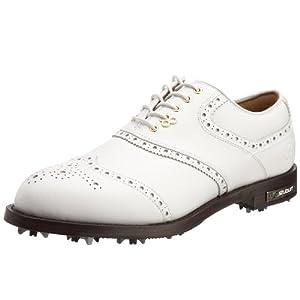 Stuburt DCC Classic Golf Shoes - Wht/Patent Wht Size 7