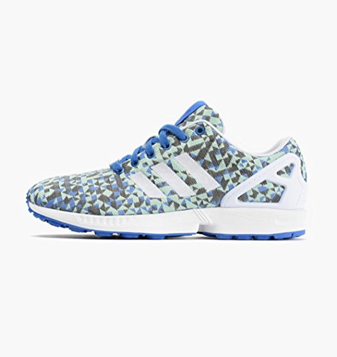 Mens Adidas ZX Flux Weave Blue 13 Running Athletic B34474 (Zx 8000 Weave compare prices)