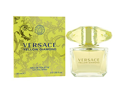 Versace Diamond Eau De Toilette Spray, Yellow,